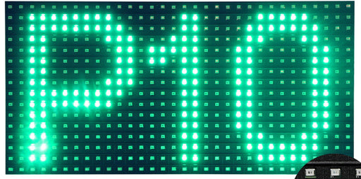 P10 LED Matrix Display - Green from PMD Way with free delivery worldwide