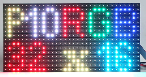 P10 Indoor 16 x 32 RGB LED Matrix Panel from PMD Way with free delivery worldwide