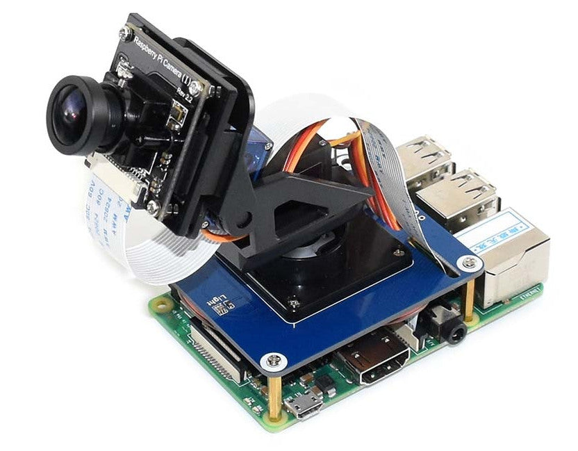 Pan Tilt HAT for Raspberry Pi with Servos from PMD Way with free delivery worldwide