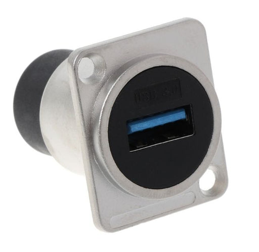 Panel Mount USB 3 or 2 Female to Female Sockets from PMD Way with free delivery worldwide