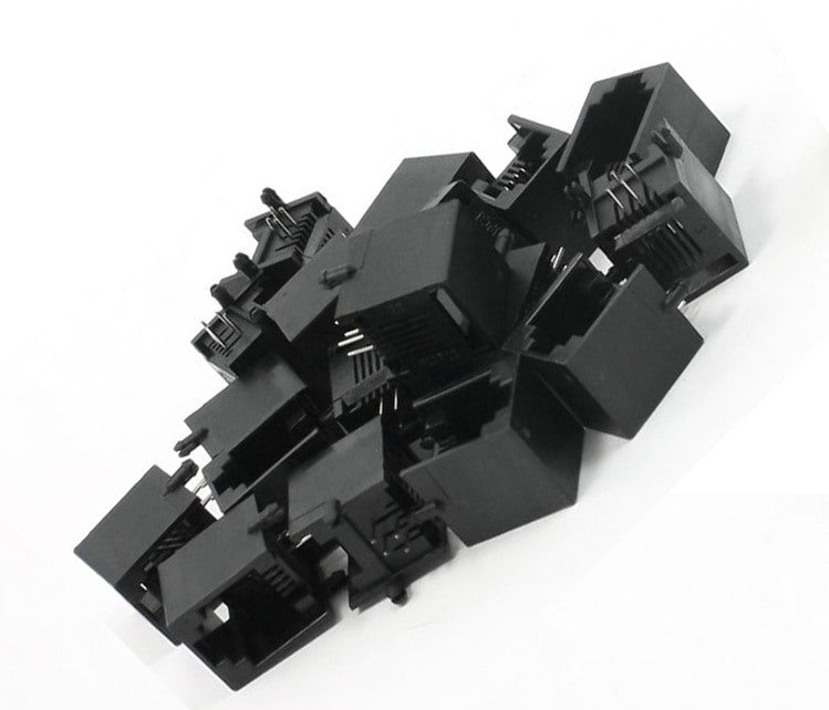 RJ11 6P4C PCB Sockets - Pack of 20 from PMD Way with free delivery worldwide