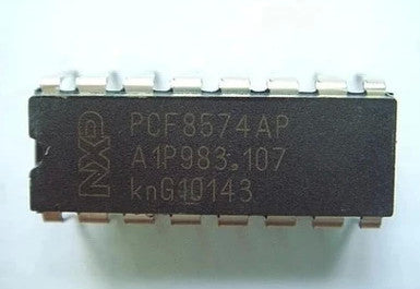 PCF8574 8 Bit I2C I/O Expander ICs in packs of five from PMD Way with free delivey worldwide
