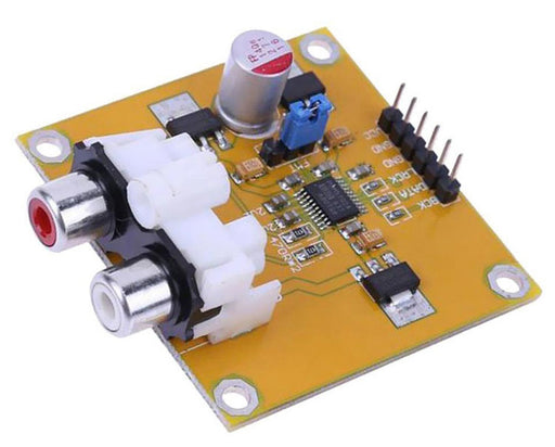 PCM5102 I2S DAC Decoder Board with RCA Output from PMD Way with free delivery worldwide