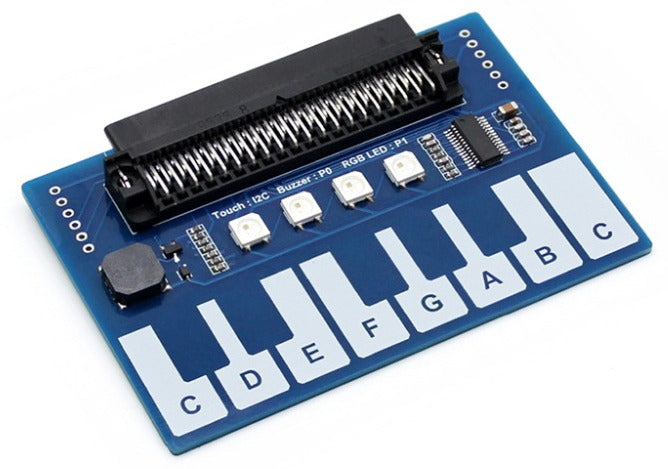 Turn your BBC micro:bit into a piano with the Piano and LED module for BBC micro:bit from PMD Way with free delivery, worldwide