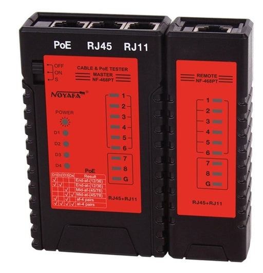 Cable Tester For Networks With PoE Support from PMD Way with free delivery worldwide