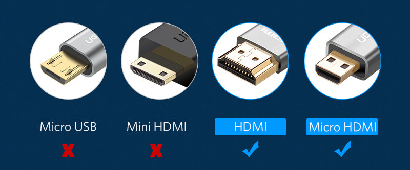 Excellent Premium HDMI to micro HDMI Video Cable from PMD Way with free delivery, worldwide