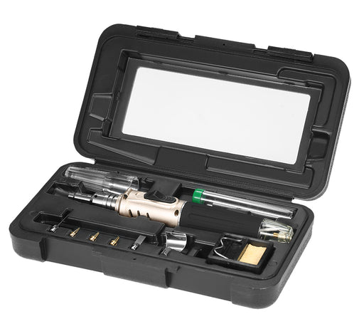 Professional 10 in 1 Butane Gas Soldering Iron Set from PMD Way with free delivery worldwide