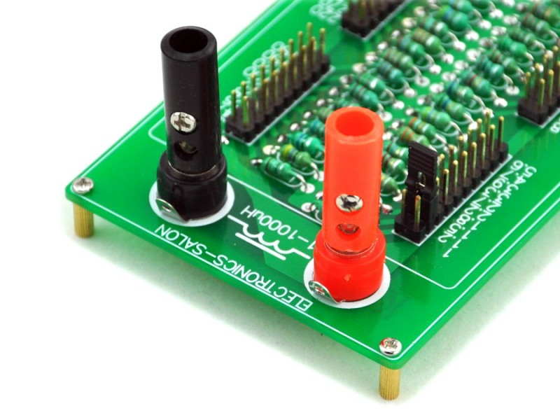Create inductance values between 1uH and 1000uH with this programmable inductor decade board from PMD Way with free delivery worldwide