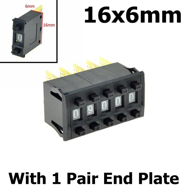 BCD or Decimal Pushwheel Switches - Various Types from PMD Way with free delivery worldwide