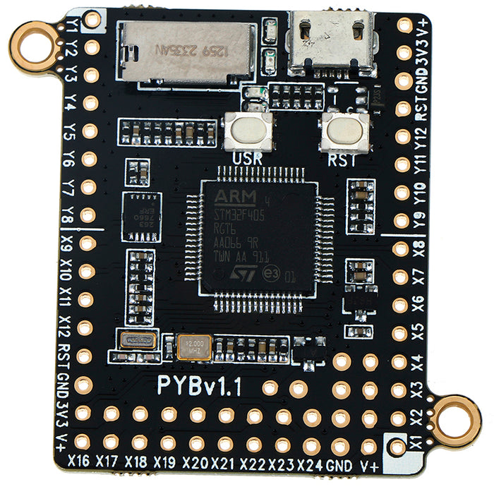 pyboard v1.1 microPython-compatible Development Board from PMD Way with free delivery worldwide