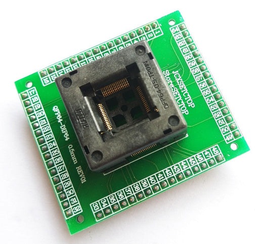 QFP64 to DIP IC Test Socket from PMD Way with free delivery worldwide