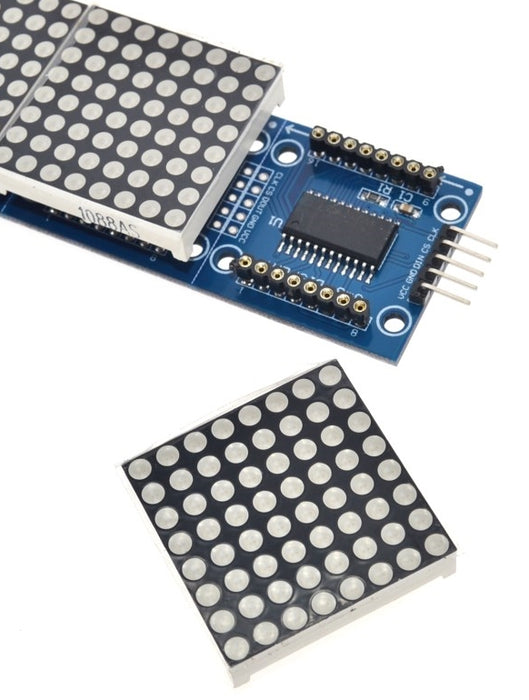 Quad MAX7219 8x8 LED Matrix Module from PMD Way with free delivery worldwide