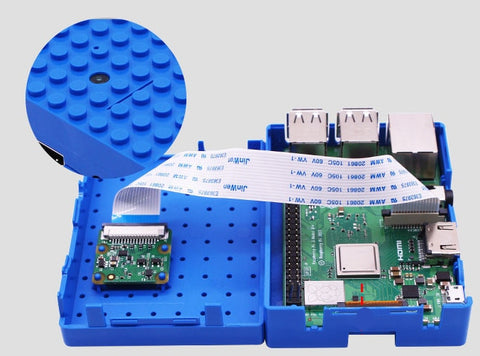 Camera-Compatible Raspberry Pi 3B+/3B/2B/B+ Enclosure from PMD Way with free delivery worldwide