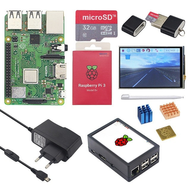 "Raspbery Pi 3B+ and 3.5"" Display Bundle"