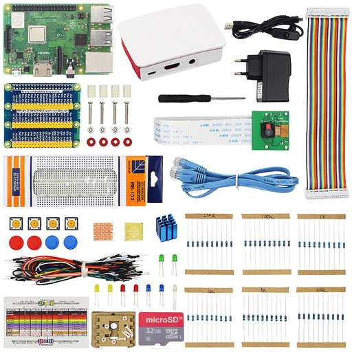 Raspberry Pi 3B+ Electronics Starter Kit from PMD Way with free delivery worldwide
