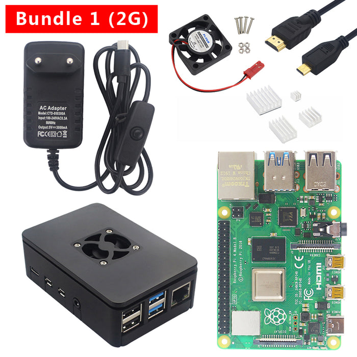Raspberry Pi 4B Starter Kits now available from PMD Way with free delivery, worldwide