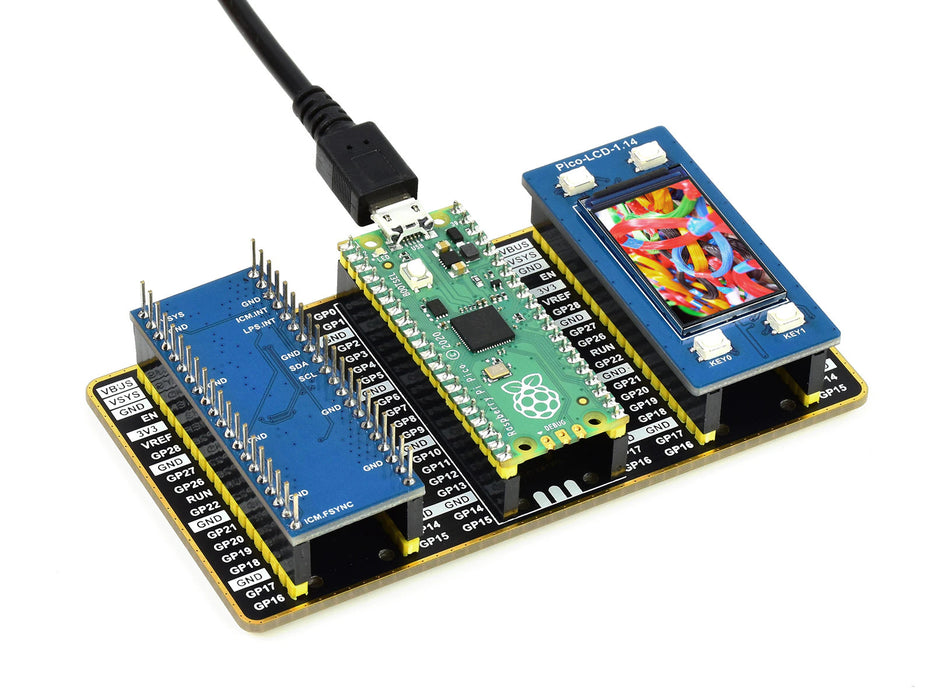 Raspberry Pi Pico Evaluation Kit from PMD Way with free delivery worldwide