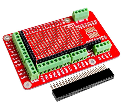 Prototyping Board for Raspberry Pi from PMD Way with free delivery worldwide