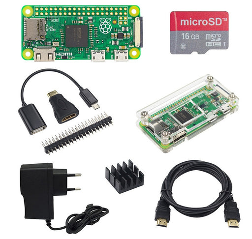 Rapsberry Pi Zero Starter Kits from PMD Way with free delivery worldwide