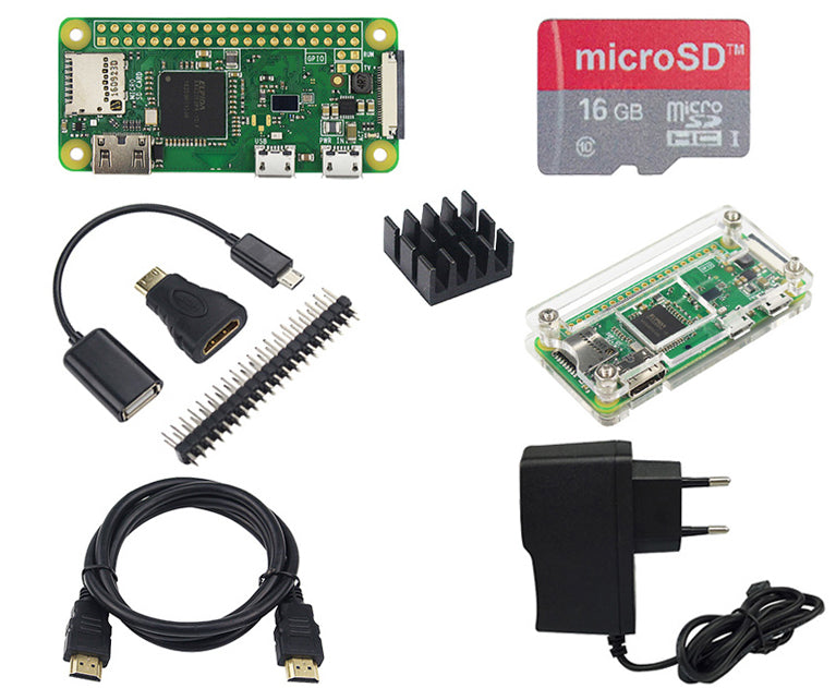 Raspberry Pi Zero Starter Kits from PMD Way with free delivery worldwide