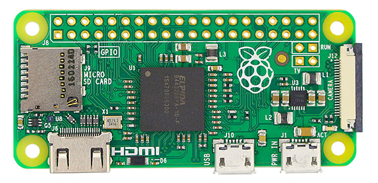 All the Raspberry Pi Zero, Wireless and WH boards from PMD Way with free delivery worldwide and no quantity restrictions