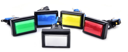 Rectangular Illuminated Arcade Buttons from PMD Way with free delivery worldwide