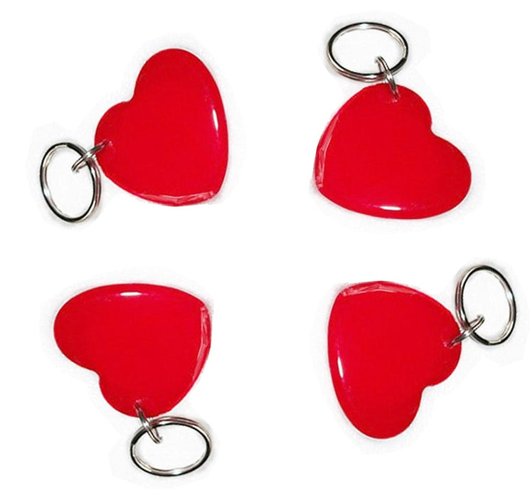 Red Heart Shape 13.56MHz 1K RFID NFC Tag - 10 Pack from PMD Way with free delivery worldwide