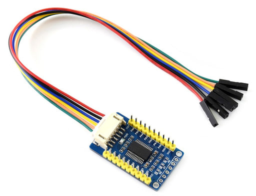 Remote MCP23017 I2C 16-bit Port Expander Breakout Board from PMD Way with free delivery worldwide