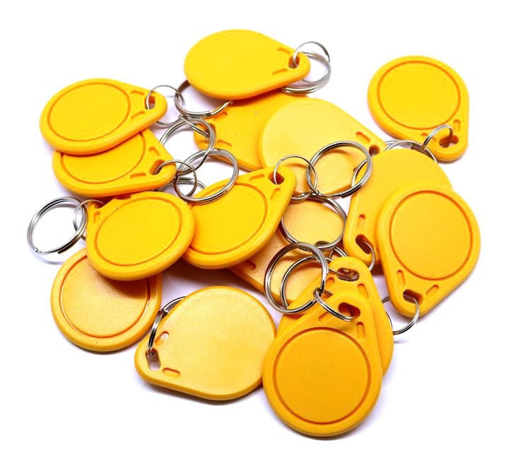 13.56MHz RFID NFC Rewriteable Keyfobs  - 100 Pack from PMD Way with free delivery worldwide