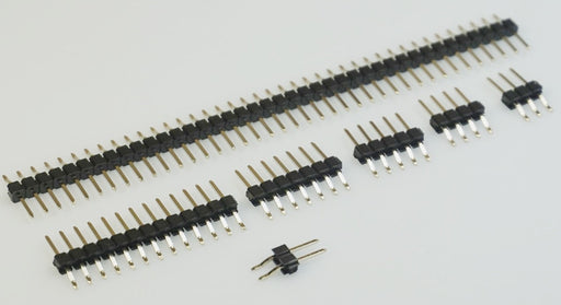 Break-away SMT SMD Male Right Angle Header Pins - 100 Pack from PMD Way with free delivery worldwide