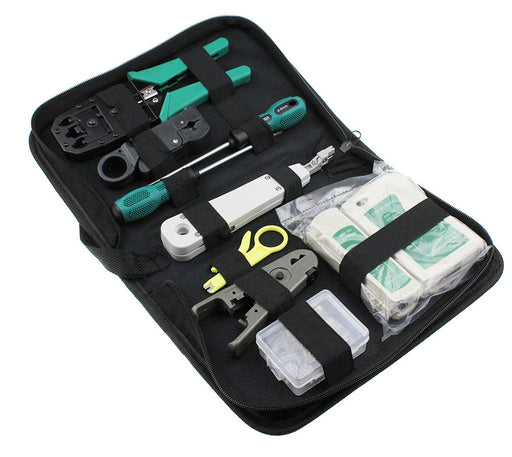 Useful RJ45 RJ11 RJ12 CAT5 Portable LAN Network Repair Tool Kit from PMD Way with free delivery worldwide