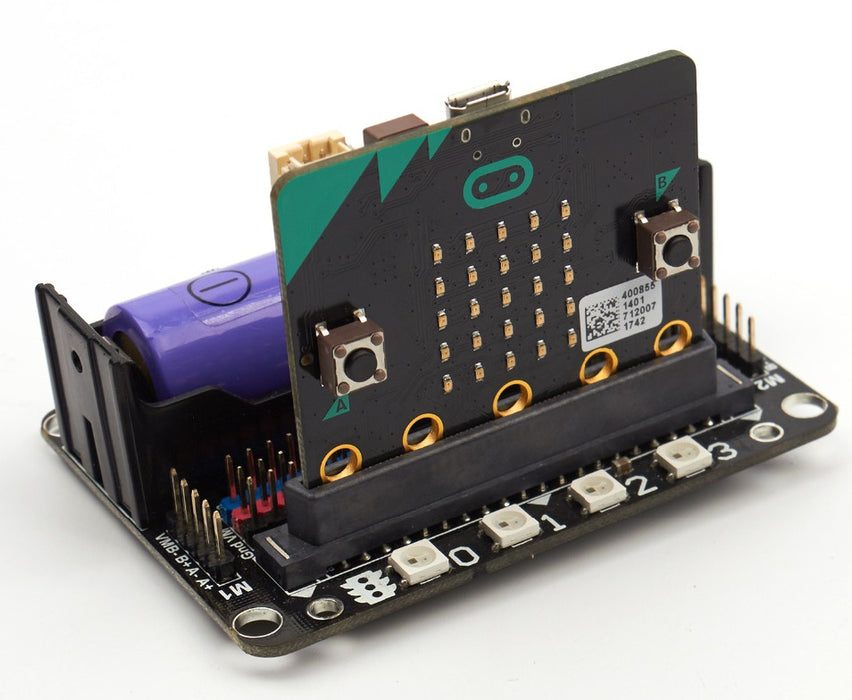 Build awesome robots with your BBC micro:bit using the robot:bit Robotics Expansion Board from PMD Way with free delivery, worldwide