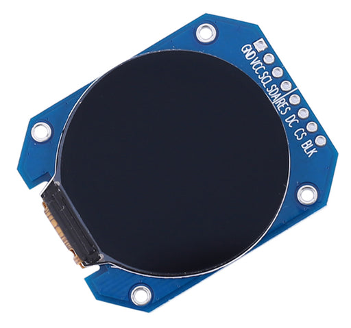 "Round 1.28"" 240 x 240 TFT LCD from PMD Way with free delivery worldwide"