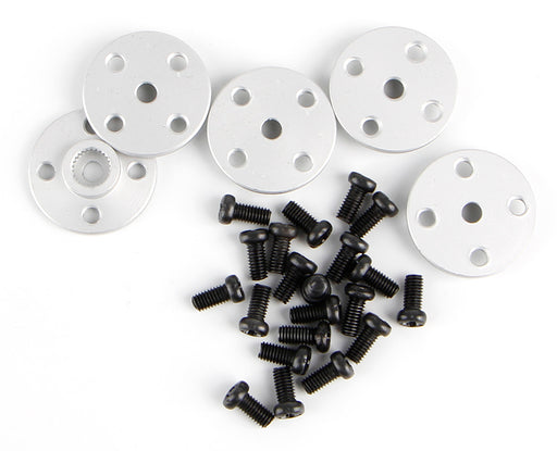 25T Metal Round Servo Horns - Five Pack from PMD Way with free delivery worldwide