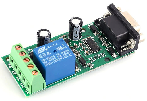Single Channel RS232 Control Relay Board - 12V DC from PMD Way with free delivery worldwide