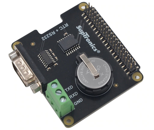 RS232 and Real Time Clock HAT for Raspberry Pi from PMD Way with free delivery worldwide
