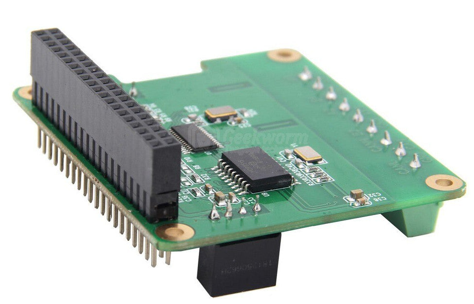 RS485 and CAN-BUS HAT for Raspberry Pi
