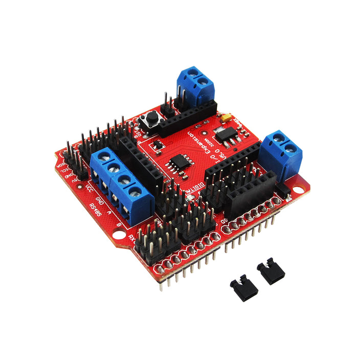 Add RS485, XBee and more to Arduino with this useful I/O Shield for Arduino from PMD Way - with free delivery, worldwide