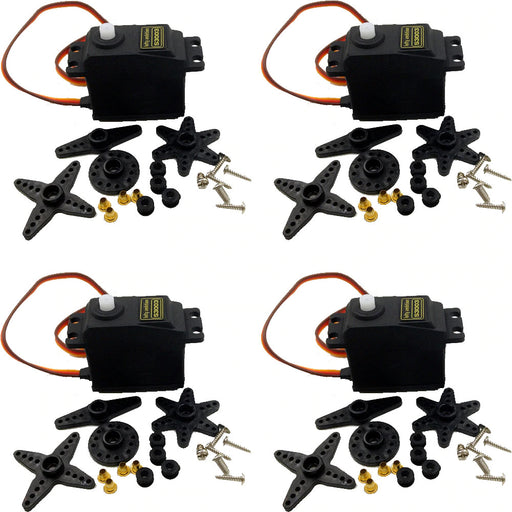 Standard S3003 Servo for Remote Control Vehicles - Four Pack from PMD Way with free delivery worldwide