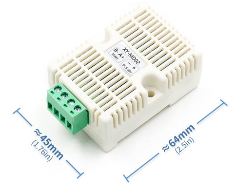 SHT20 Outdoor Temperature and Humidity Sensor via Modbus RS485 from PMD Way with free delivery worldwide