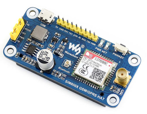 LTE 4G/3G/2G/GSM/GPRS/GNSS HAT for Raspberry Pi — PMD Way
