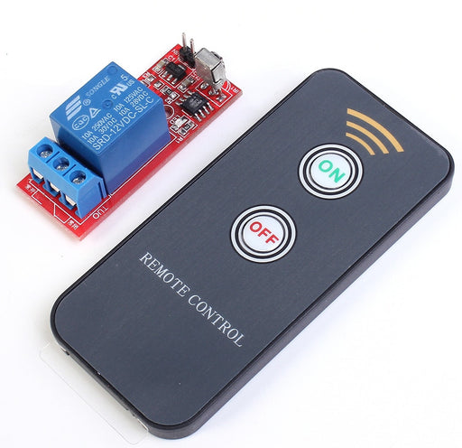 Infra Red Remote Control Relay Module - Single Channel from PMD Way with free delivery worldwide