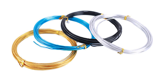 Single Core Aluminum (Aluminium) Wire - Various Colors and Sizes from PMD Way with free delivery worldwide
