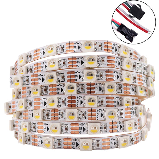 Skinny 4mm SK6812 RGB LED Strip from PMD Way with free delivery worldwide