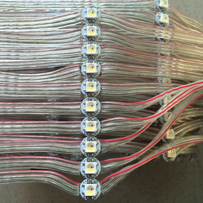 Pre-wired SK6812 RGBW LED PCB Strings from PMD Way with free delivery worldwide