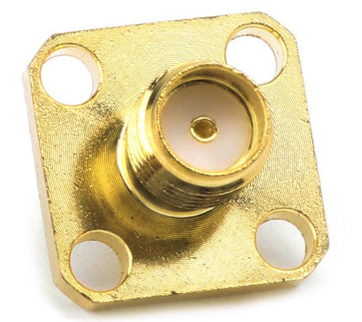SMA Female Panel Mount Connector - 10 Pack from PMD Way with free delivery worldwide