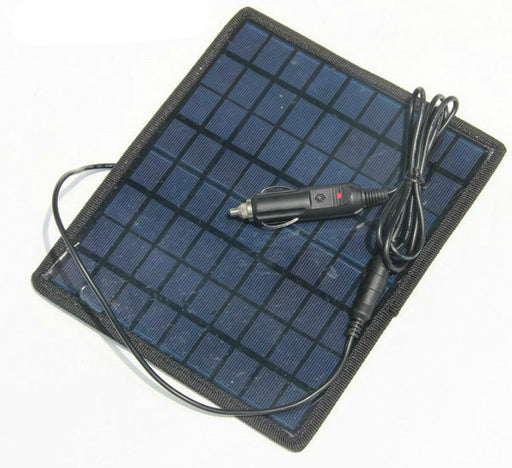 Keep your car battery charged with the 12V Solar Battery Charger Panel from PMD Way with free delivery worldwide