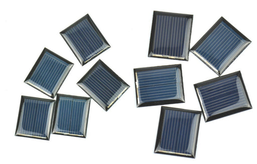 Solar Panel 1V 80mA in packs of ten from PMD Way with free delivery worldwide