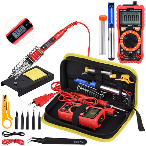 Get started with serious electronics fun with our Ultimate Soldering  Iron and Multimeter Tool Kit from PMD Way, with free delivery worldwide