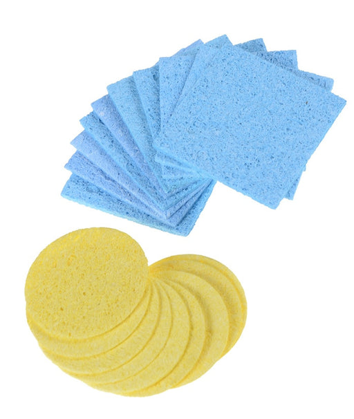 Soldering Iron Tip Cleaning Sponges in packs of ten from PMD Way with free delivery worldwide